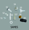 Sames Powder Coating Gun Parts
