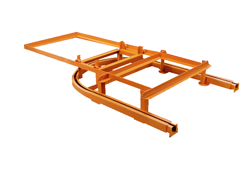 Overhead Conveyor Chain Tension System