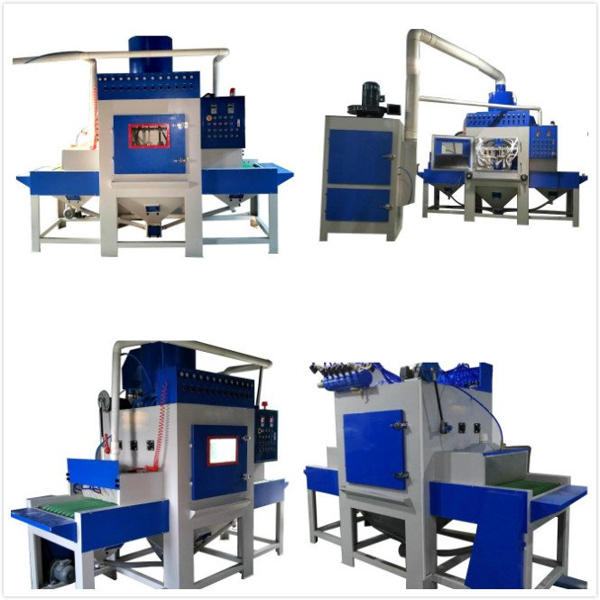 Automatic sandblasting equipment