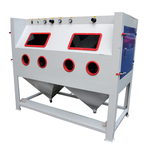 Manual Multistation Sandblasting Cabinet