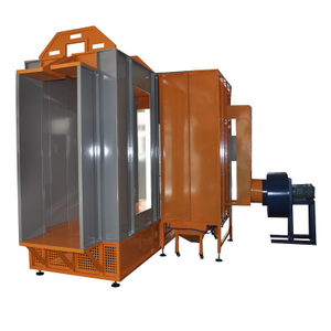 Tunnel Powder Coating Spray Booth COLO-S-3212