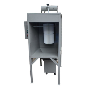Small Batch Powder Coating Booth COLO-S-0711