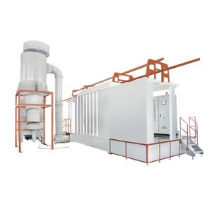 PP Plastic Automtic Powder Spray Booth